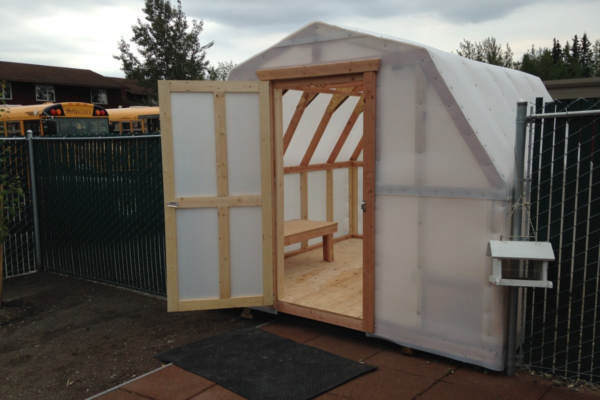 Great northern sheds llc north pole ak licensed for Pole barn greenhouse