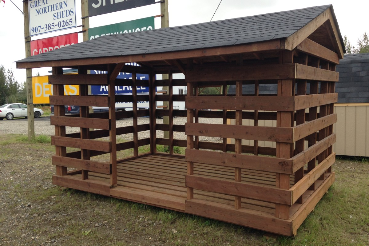Wood Shed built by Great Northern Sheds