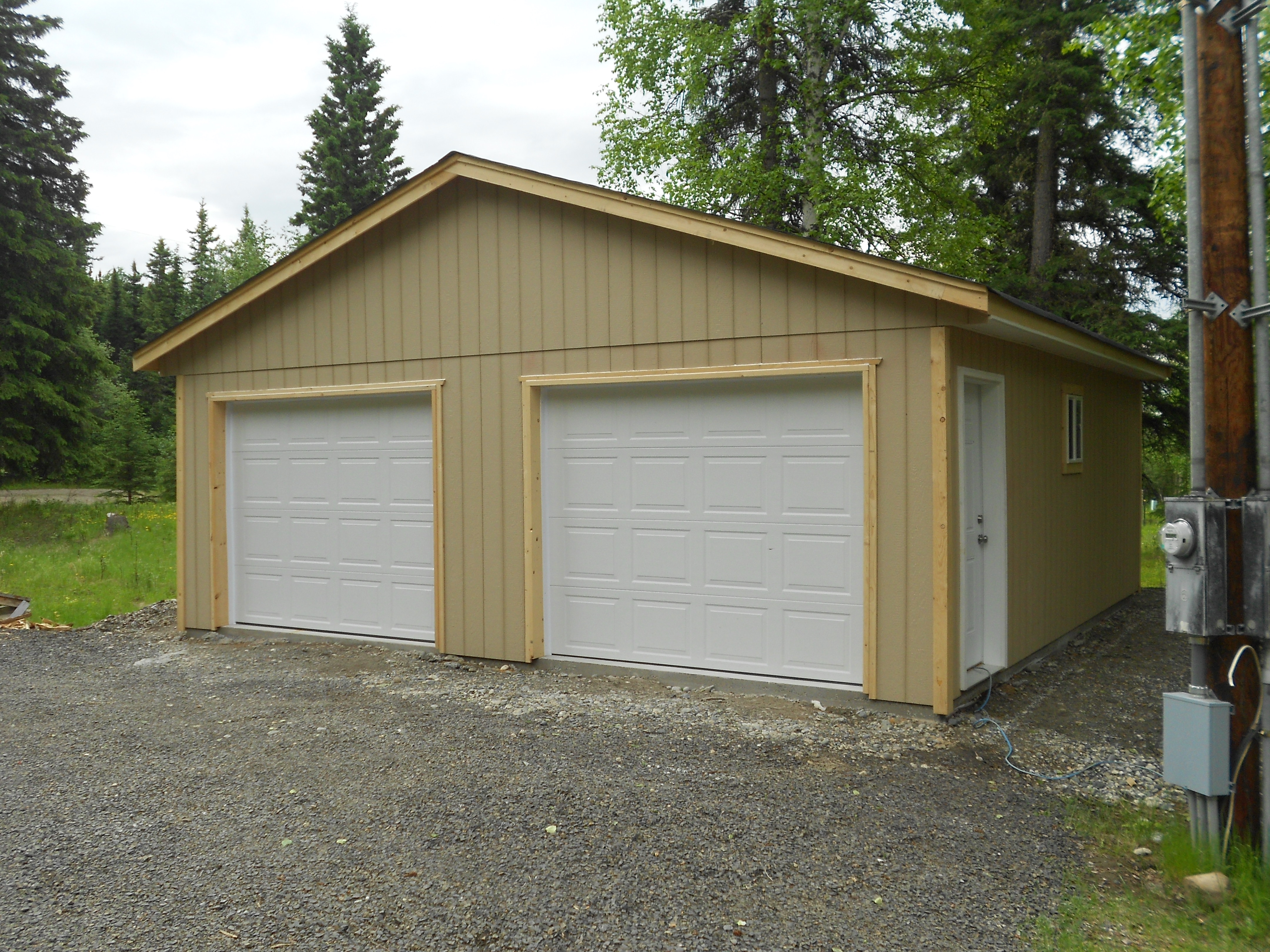 garages shed sale garaports side garage large industrial custom for products eaves sheds view with