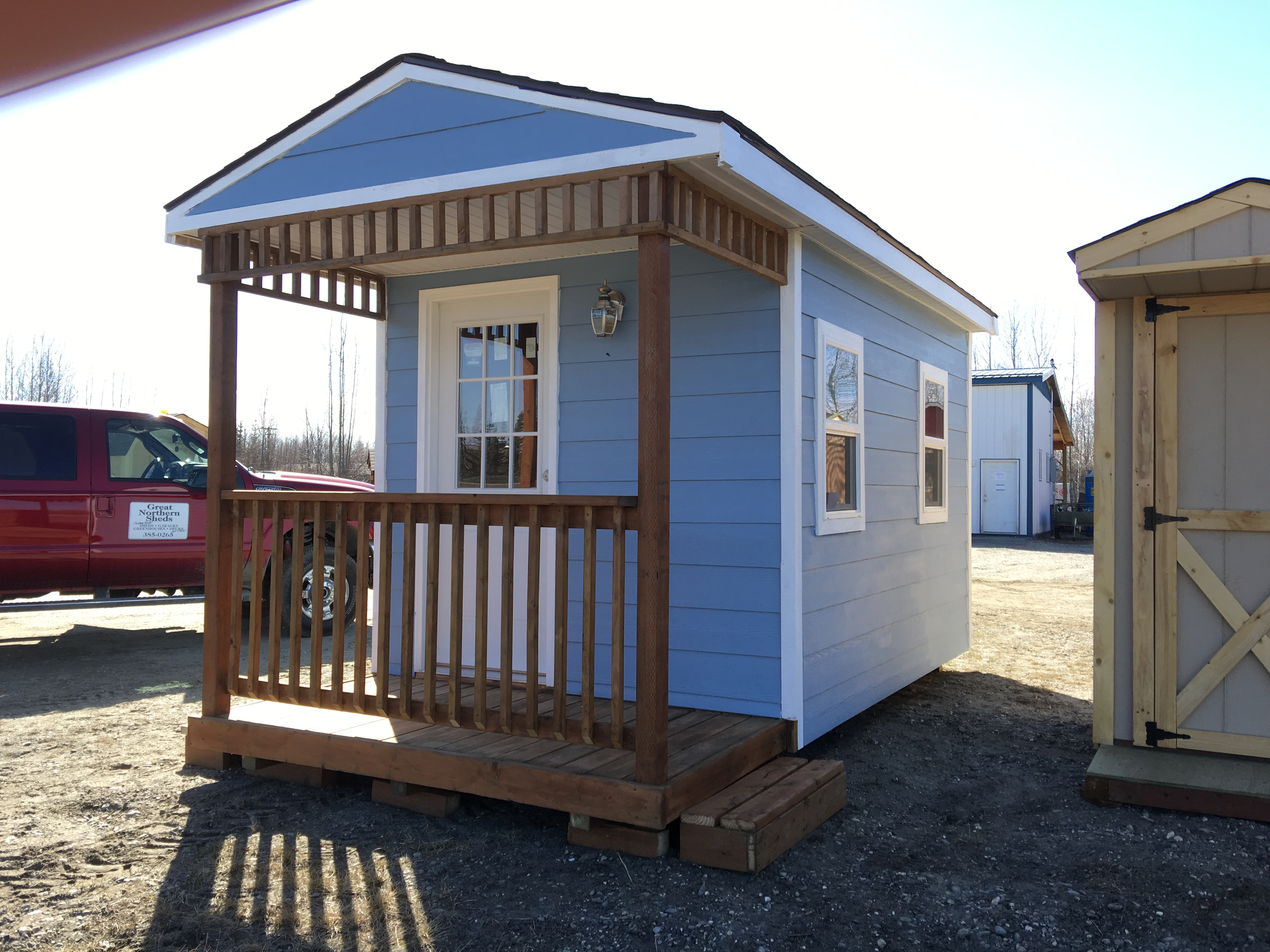 Custom Sauna built by Great Northern Sheds